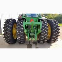 Системы сдваивания широких колёс - сдвоенные колеса для сплошной обработки почвы