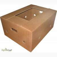 Яблочный ящик из картона