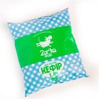 Молочный кефир 1% и 2, 5% Zorka milk