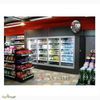 Холодильная камера-витрина c стеклопакетом