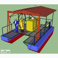 Оборудование добычи и производства удобрений и корма из сапропеля