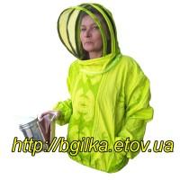 Куртка пчеловода Евро 100% Бязь Цветная