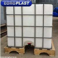 Продам емкость для воды еврокуб пластиковая б/у цена 1000 л