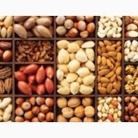 Орехи:грецкий, бразильский, макадамия, фундук, пекан, миндаль, кешью, фисташки.Арахис в шоколаде